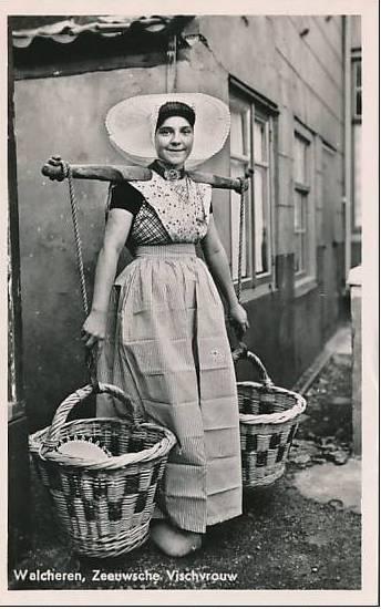 girl from Arnemuiden (Zeeland).
