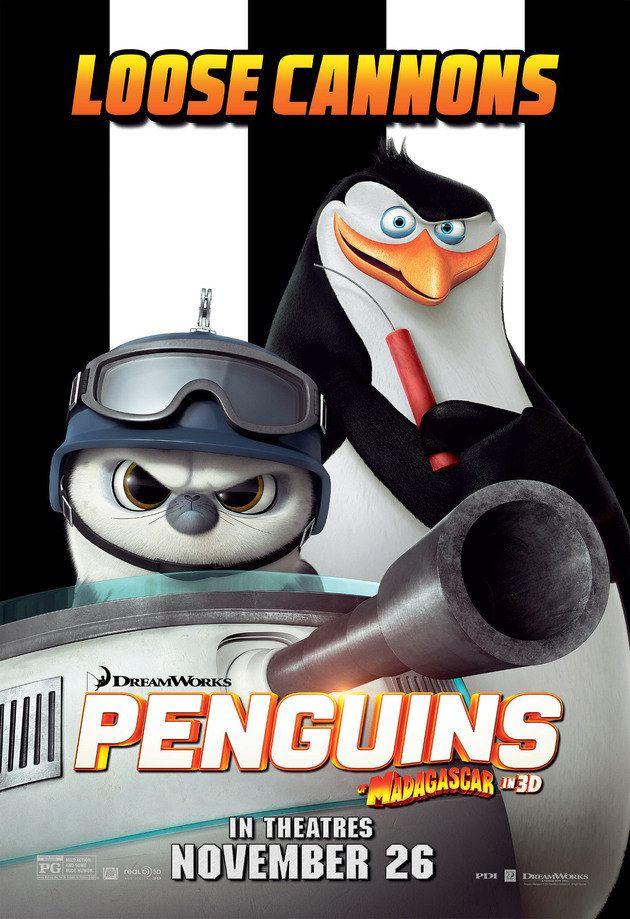 Penguins of Madagascar   Os Pinguins de Madagascar