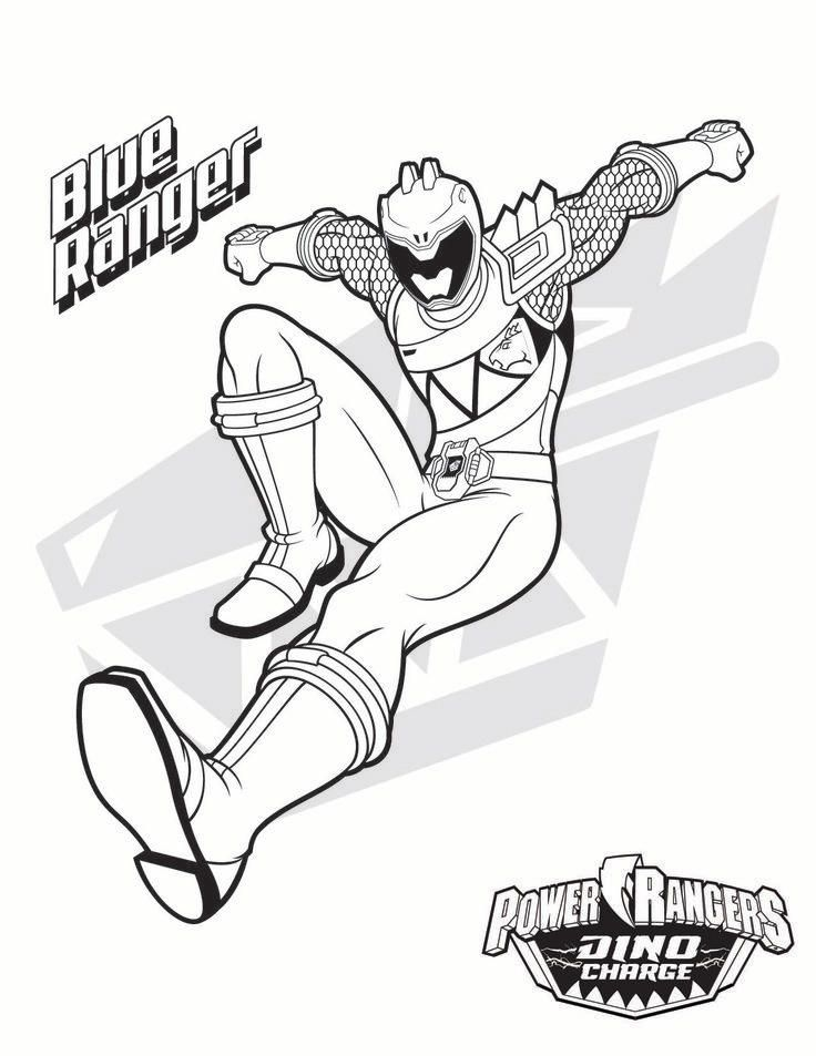 Power Ranger Coloring Pages Blue Ranger Power Rangers Coloring Pages Power Rangers Dino Power Rangers Dino Charge