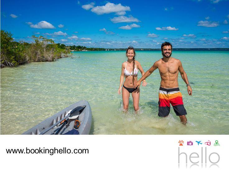 VIAJES EN PAREJA. Cancún es uno de los destinos más famosos del mundo por la belleza y variedad de sus playas, así como por su oferta turística. Aquí se concentra una parte importante del entretenimiento para el turismo, así como lugares ecoturísticos para descubrir con esa persona especial. En Booking Hello les invitamos a adquirir su pack all inclusive, para asegurar una estancia confortable y los mejores servicios durante su viaje al Caribe. #BeHello