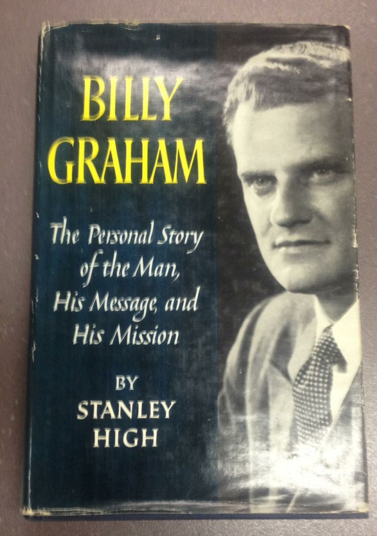 This is the book Dr Billy Graham gave to F W Boreham when the American evangelist visited Frank and Stella Boreham in March 1959. One of the many items of memorabilia in the Whitley Library.