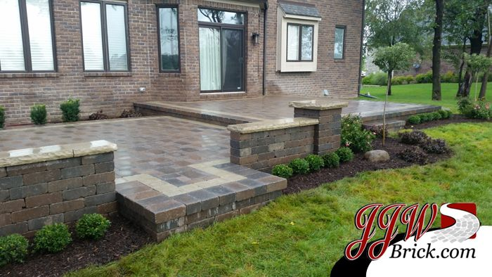 paver patio installation landscape design washington twp mi 48094 landscaping ideas mi pinterest - Patio And Landscape Design