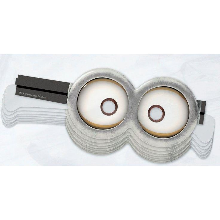 This is a graphic of Unusual Minion Goggles Printable