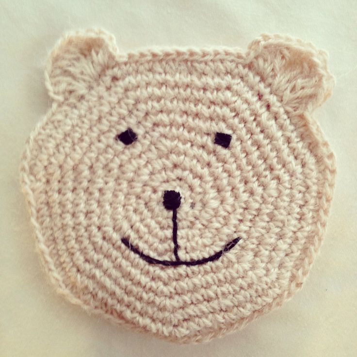 "DIY: 100% jute, crocheted animal purse ""bear"" for kids and fashion girls:)"