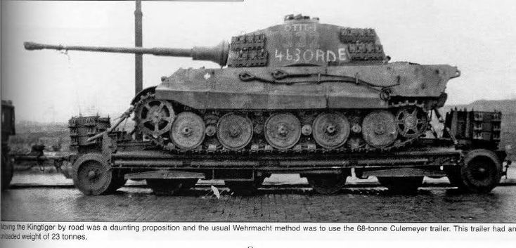 "the tank is Tiger II ""332"" of Kampfgruppe Peiper, recovered by the US First…"