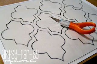 quatrefoil pattern..I've been dying to know the name of this pattern!
