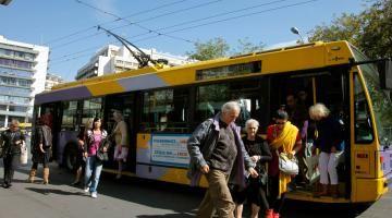Παρατείνεται η δωρεάν μετακίνηση με τις δημόσιες αστικές συγκοινωνίες της Αθήνας