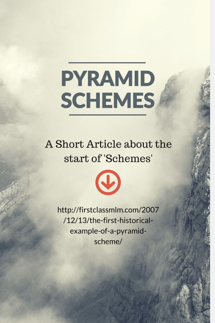 Do you REALLY know what a pyramid scheme is? Or are you just repeating what you heard?