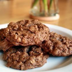 Chocolate Oatmeal Cookies @ allrecipes.co.uk