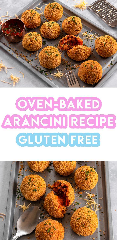 My Oven Baked Gluten Free Arancini Recipe Arancini Recipe Recipes Arancini