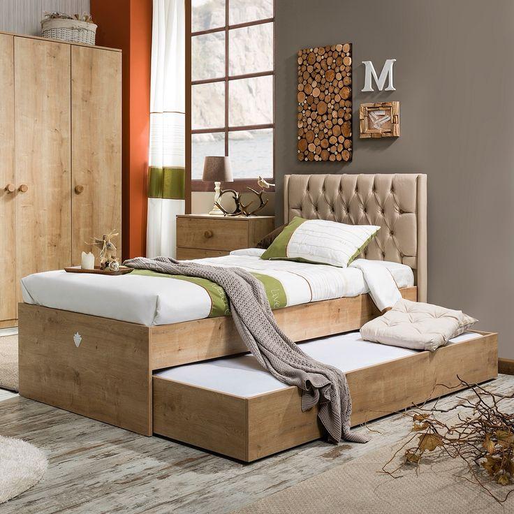 Детская кровать выдвижная Natura (90 x 180)