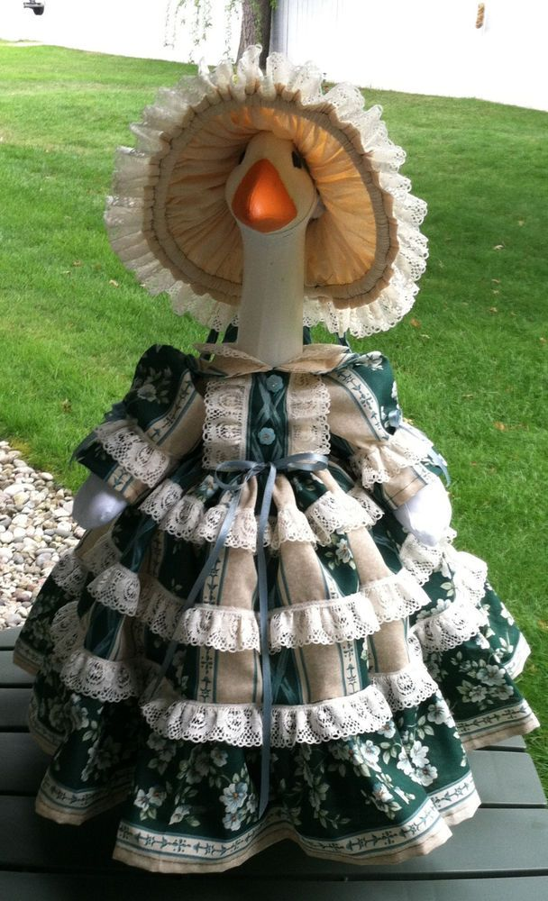 Goose Clothes ~ MISS FANCY ~ Outfit by Linda | Gardens ...