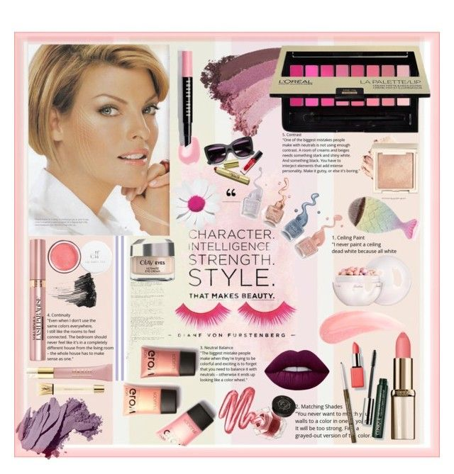 """make up"" by angelacerqua on Polyvore featuring beauty, L'Oréal Paris, Gucci, Clinique, Guerlain, Smith & Cult, Bobbi Brown Cosmetics, Lime Crime, Rituel de Fille and AERIN"