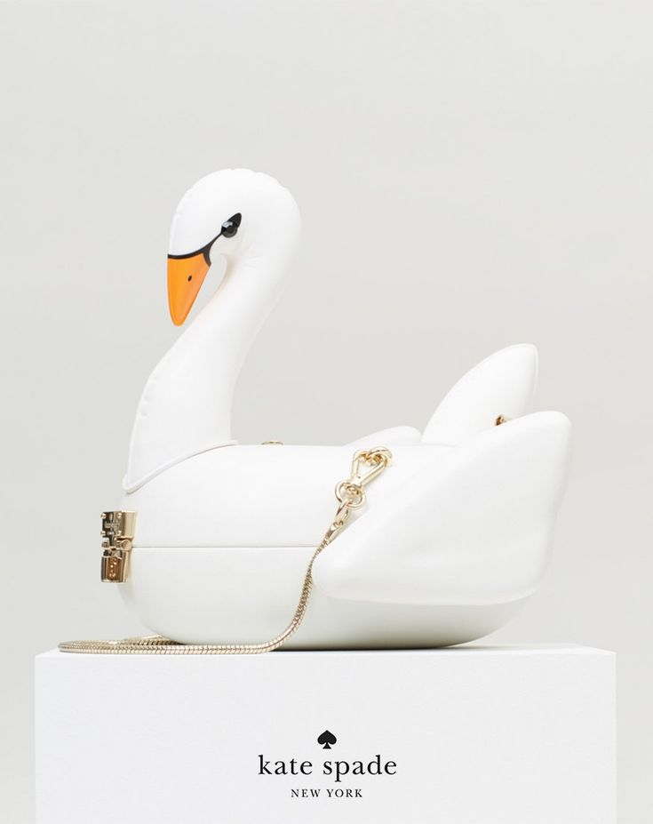 this year, be the swan (or at least carry one with you!)