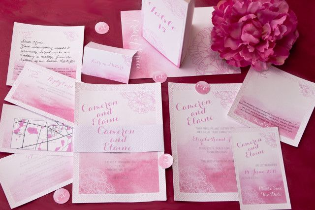 Featured Wedding Invitation Design: Adore Wedding Invitation Suite by I Will Invitations (1)