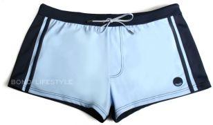 Light & navy blue swimming trunks
