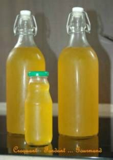 Sirop de citron ou d'orange