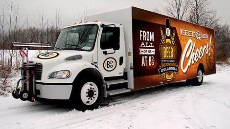 The Beer Distributors of Oklahoma Truck Wraps
