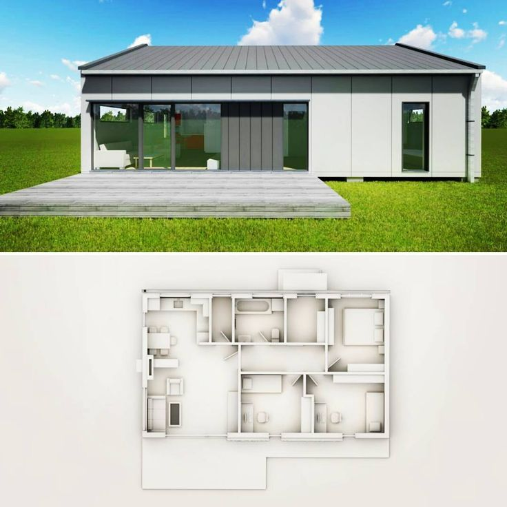 "Páči sa mi to: 25, komentáre: 3 – FlexiLife modern houses (@flexilifehouses) na Instagrame: ""Nový domek O84S po upgradu - jeden z nejdostupnějších 4kk domů na trhu. A i tak mu to sluší:)…"""