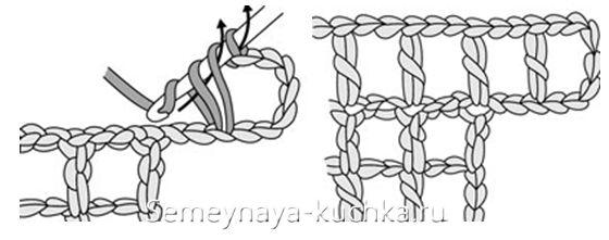 филейное вязание для начинающих