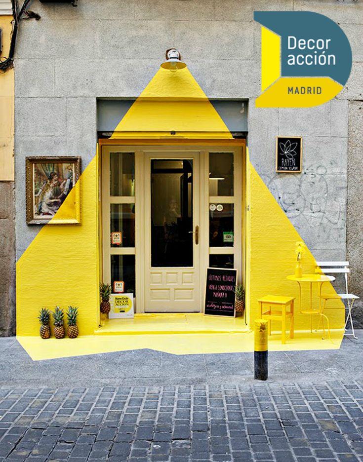 DecorAcción 2016, evento decoración en España, evento en primavera en Madrid, actividades originales en Madrid, instalaciones y diseño en Madrid.