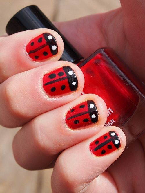 Cute Red Nails Designs 2013 Red Nail Designs 2013