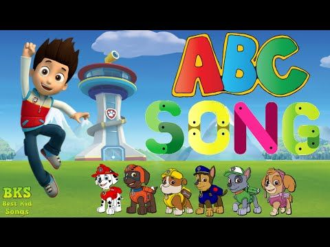 Paw Patrol ABC Song For Children | Alphabet Song Nursery Rhymes | Best K...