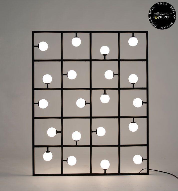 cuadrado simple con luz mirar sistema de anclaje y unas con otras