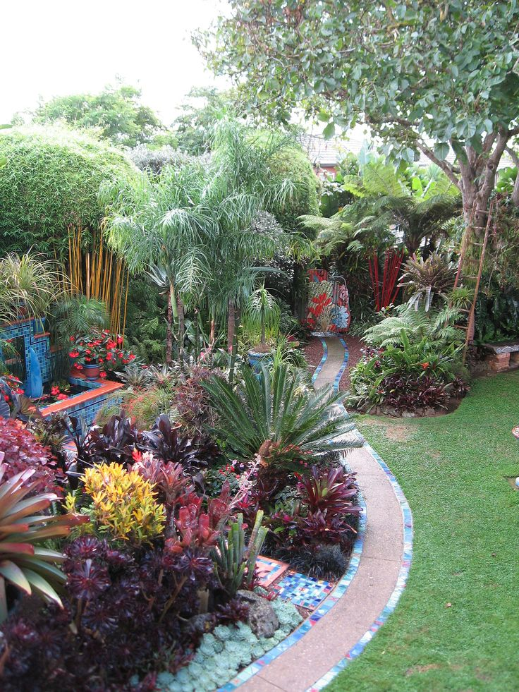 Best Subtropical Gardens Images On Pinterest Tropical Plants