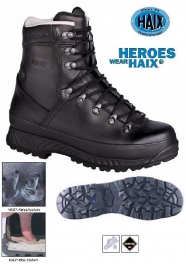 HAIX German Army Bundeswehr BW Military Goretex Mountain Boots #Markenlos