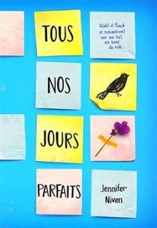 Les lectures de Mav: Tous nos jours parfaits -Jennifer Niven