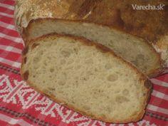 domáci chlieb s vareným zemiakom (fotorecept)