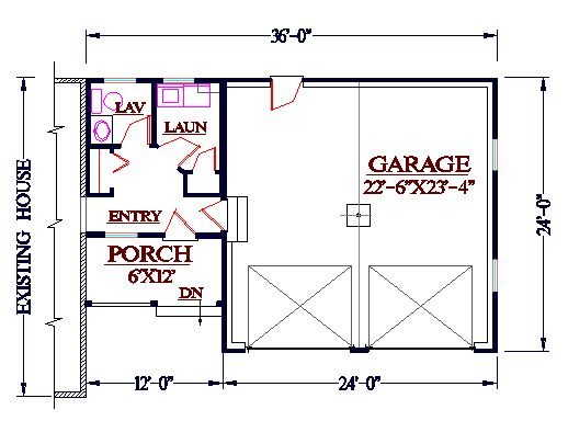 Small Powder Room Floor Plans