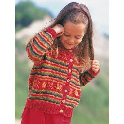 Free Easy Child's Cardigan Knit Pattern