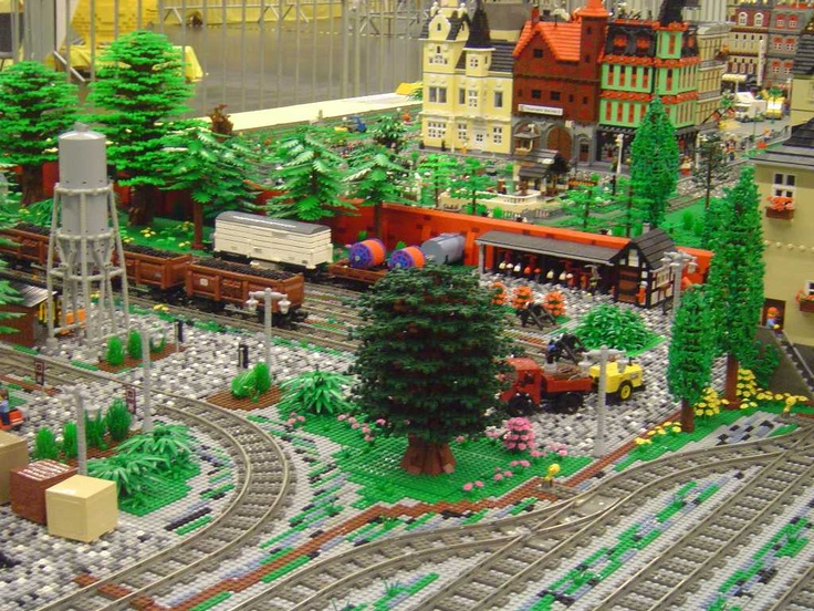i want there to be multiple levels of my lego city so there can be subway trains