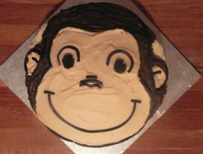 How To Make A D Curious George Cake