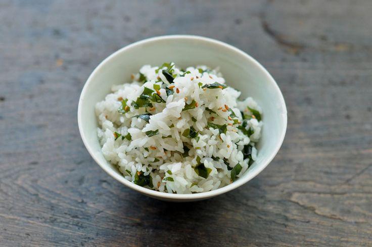 わかめごはん wakame gohan(rice)