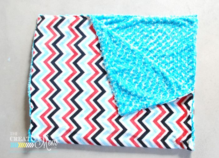 Minky Blanket Sewing Tutorial | The Creative Mom