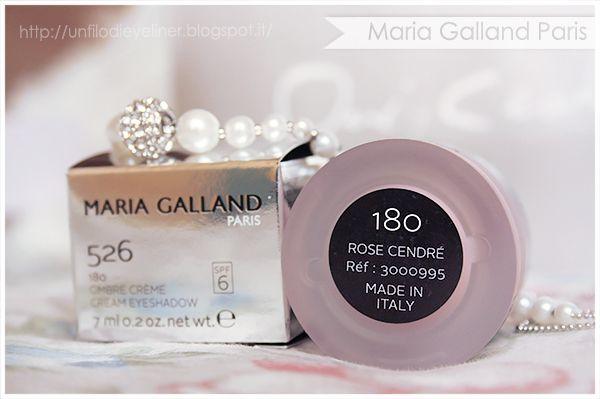 Maria Galland - Le Maquillage Rêves d'Été Ombre Creme 180 - Rose Cendré