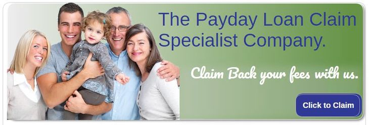 Official Site of the No 1 Payday Loan Claims Experts. High Success Rate. Bespoke Technology. No Win No Fee. Apply Online to Claim a Payday Loan Refund Today. http://www.paydayloanclaims.net