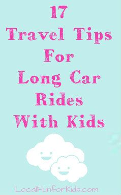 How to keep kids happy and parents sane during long family car rides.: Long Families, Kids Happy, Long Cars, 17 Travel, Travel Tips, Cars Riding, Families Cars, Roads Trips, Long Car Rides