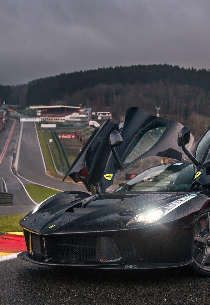 Ferrari Laferrari on SPA Francorchamps