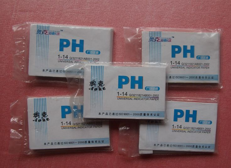 Lot 5 Bags 400 Strips 1 - 14 PH Indicator Test Paper Chemistry Labware - Mixers