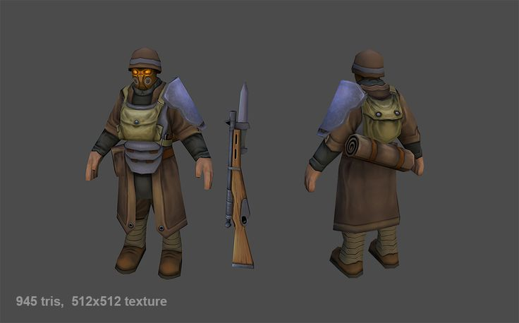 LOWPOLY (sub 1000~ triangle models) - Page 522 - Polycount Forum