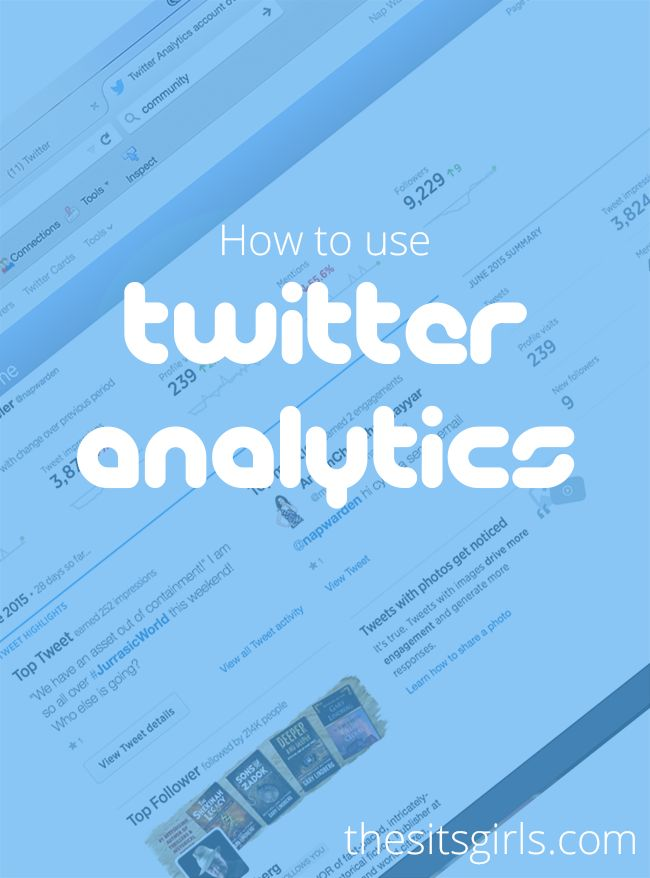 Twitter Tips | Social Media Tips | Learn how to use Twitter Analytics to grow your account. Find out what is really working for you on Twitter.