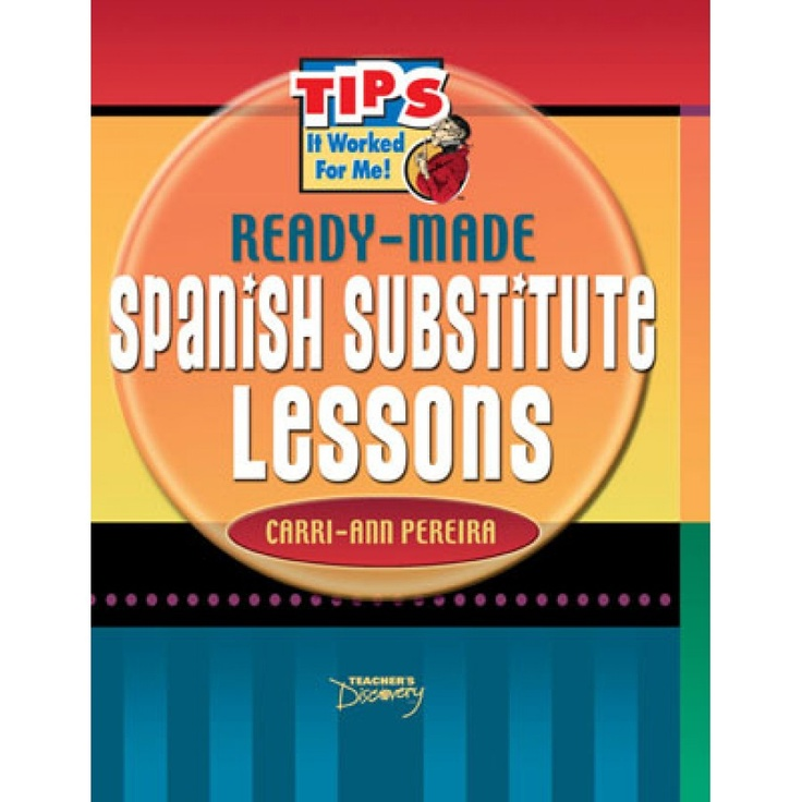 finally pre made spanish substitute teacher lessons no language skills required for spanish. Black Bedroom Furniture Sets. Home Design Ideas