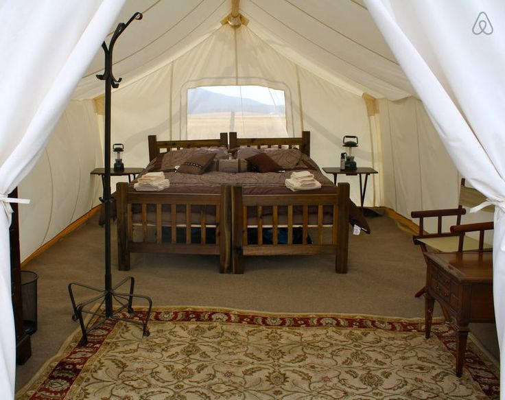 Check out this awesome listing on Airbnb: Yellowstone Under Canvas - Safari - Tents for Rent