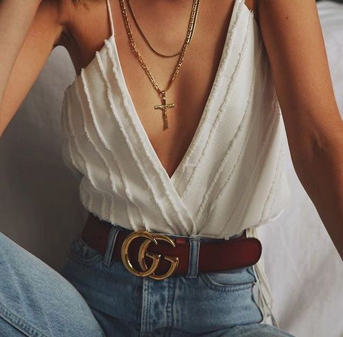 TREND: Gucci Belt. More details on how to style this season's must-have and where to buy it on VentureVixen.com