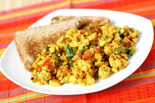 Indian black salt, scramble.: Indian Recipes, Vegan Breakfast, Vegan Scrambled Eggs, Akoori Vegan, Parsi Scrambled, Breakfast Scramble, Akoori Breakfast, Akoori Parsi, Akoori Indian Tofu