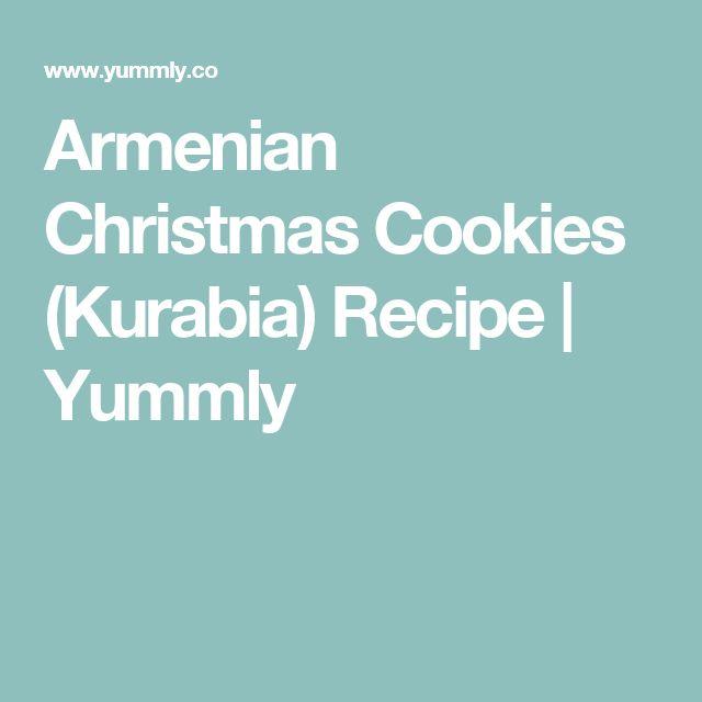 Armenian Christmas Cookies (Kurabia) Recipe | Yummly